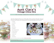 Aunt Clara's Vintage China Hire
